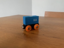 BRIO 33692 Blue Container Wagon