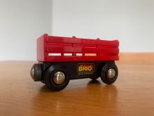 BRIO 33651 Red Cattle Wagon