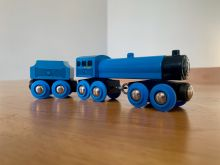 BRIO 33647 Blue Engine with Tender