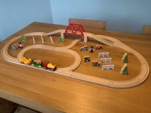 BRIO 33033 Train and Farm Set