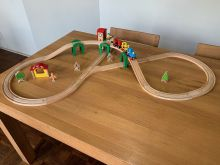 BRIO 33051 Track & Stack City Set