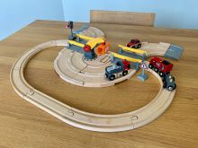 BRIO 33208 Rail & Road Crane Set