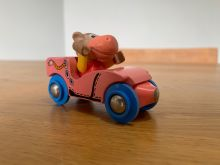 BRIO 32514 Hilda Hippo and Skate Car